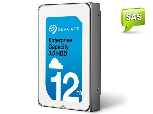 Imagem de HDD 3,5 Enterprise Servidor 24X7 Seagate 2A1201-002 ST12000NM0027 12 Tera 7200RPM 256MB Cache SAS 12GB/S