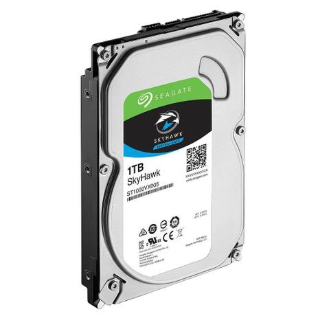 Imagem de HDD Seagate 1TB SKYHAWK ST1000VX005 SATA 6GB/ S