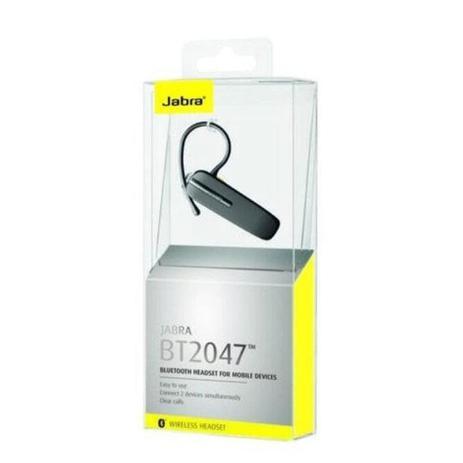 Imagem de Head Set Sem Fio Wireless Jabra Bt2047 Bluetooth Original Atende Celular e Notebook MacBook