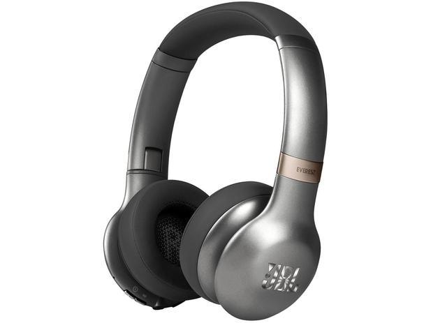 2d3ebfa0a Headphone Fone de Ouvido JBL Bluetooth Sem Fio - com Microfone Dobrável  Everest 310