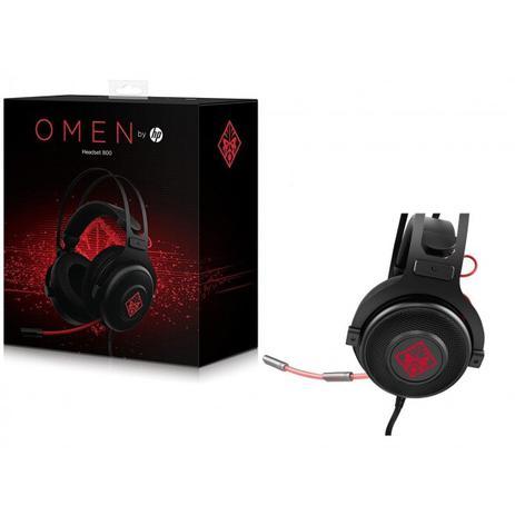 32b82c0bb42 Headphone Hp Omen 800 Black P2 Estéreo - 1KF76AA-ABL - Fone de ...