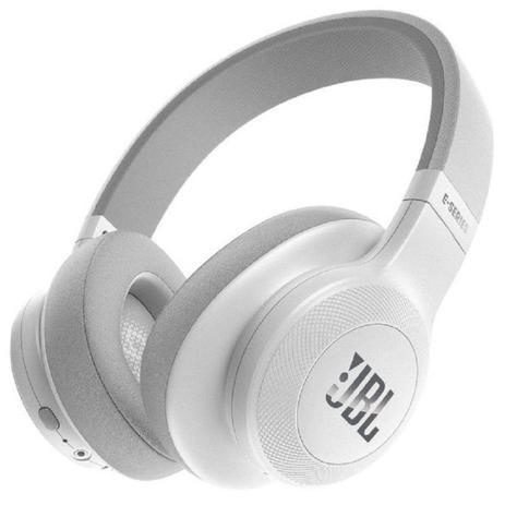 Imagem de Headphone Sem Fio Bluetooth com Microfone JBL E55BT Branco