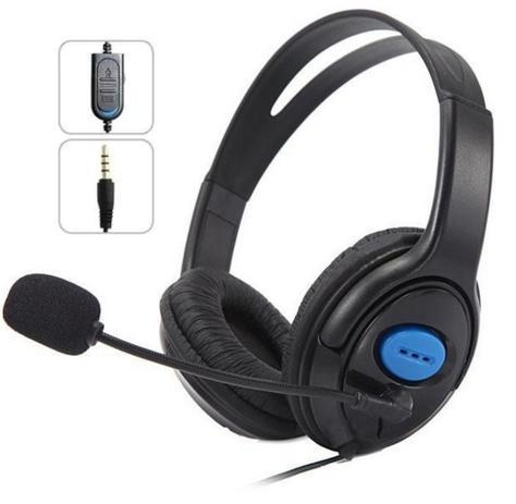 Imagem de Headset Gamer com Fone e Microfone PS4 Xbox One PC