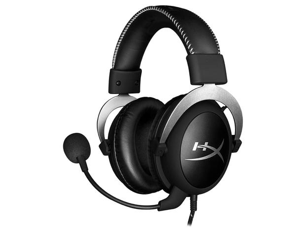 Headset Gamer HyperX Cloud - Silver