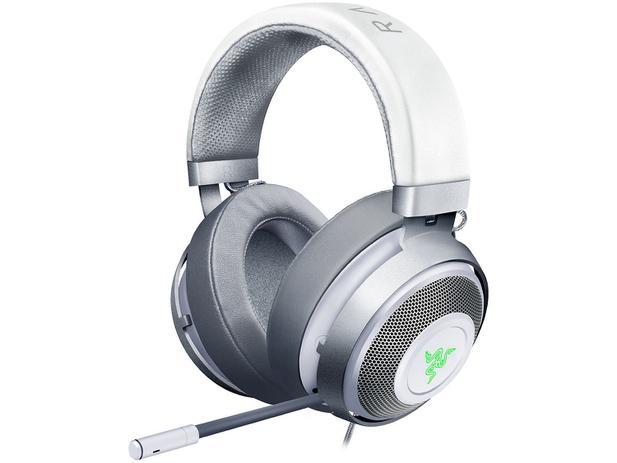 Headset Gamer para PC Mac PS4 Razer - Kraken 7.1 V2 Chroma Mic Mercury 02e2c2b603
