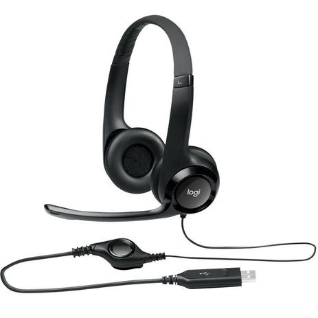 Imagem de Headset H390 Logitech Usb Fone Para Pc