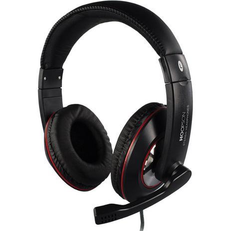 Imagem de Headset Hoopson F-036 com Microfone Preto