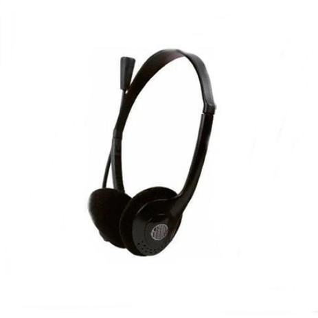 Imagem de Headset Lightweight Hoopson Leve, Plug P2 para o Áudio e Outro P2 Para o Microfone - F-024