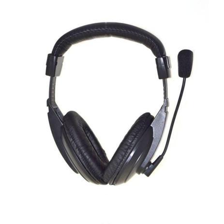 Imagem de Headset MaxPrint Profissional 6011444, com Microfone, P2 - Preto