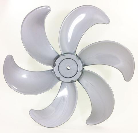 Imagem de Helice P/ Ventilador Philco / Britania 30cm 6 Pás Lisa Prata