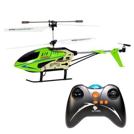Imagem de Helicóptero C/ Controle Remoto FENIX Verde