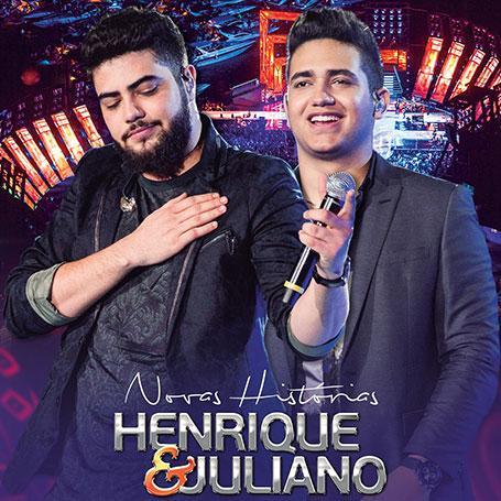 Imagem de Henrique e Juliano - Novas Histórias Ao Vivo em Recife- CD