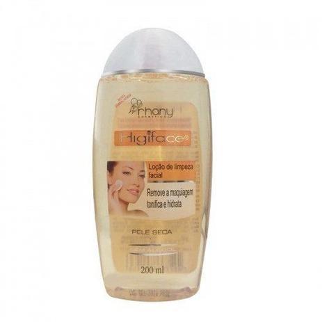 Higiface Locao De Limpeza Facial Pele Seca 200ml Limpeza Do Rosto
