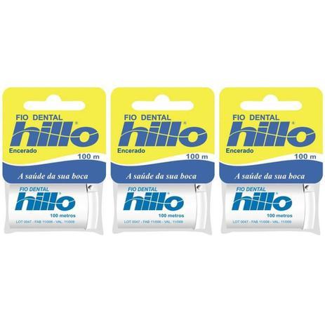 dab68131b Hillo Fio Dental 100m (Kit C 03) - Fio Dental - Magazine Luiza