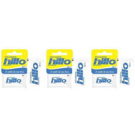 31bda9cb3 Hillo Fita Dental 50m (Kit C 03) - Fio Dental - Magazine Luiza