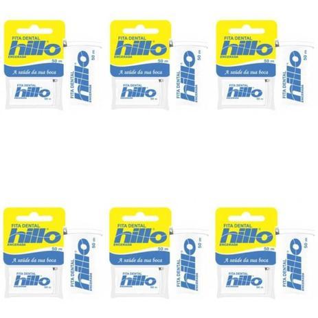 1b49a6cc2 Hillo Fita Dental 50m (Kit C 06) - Fio Dental - Magazine Luiza