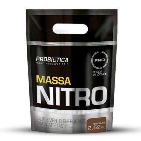 Imagem de Hipercalórico Massa Nitro Refil Pouch Probiótica 2,52kg