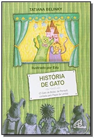 Historia De Gato O Gato De Botas De Perrault Paulinas Livros