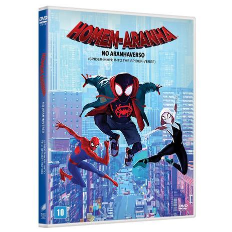 Homem Aranha No Aranhaverso Dvd Sony
