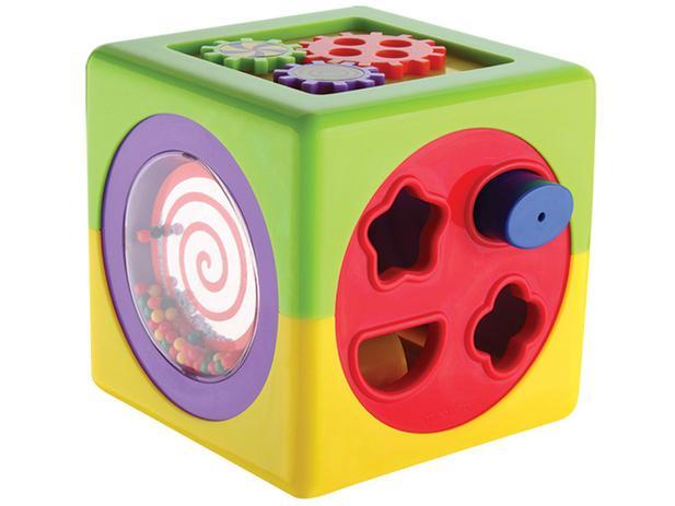 Hora de Brincar Cubo de Atividades - Dican