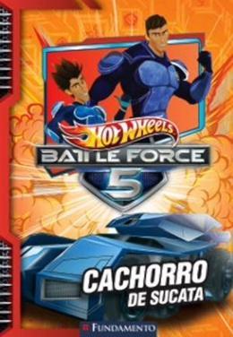 Imagem de Hot wheels - battle force 5 - cachorro de sucata