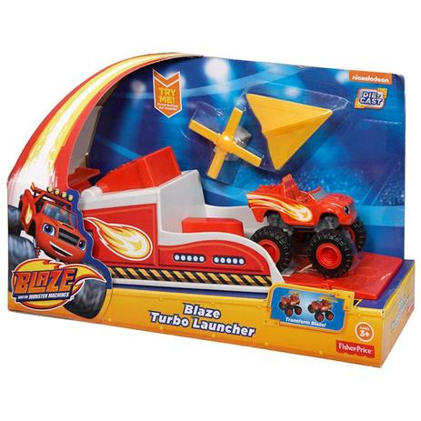 Imagem de Hot Wheels Blaze Sort Turbo Lancadores Cgk15 Mattel