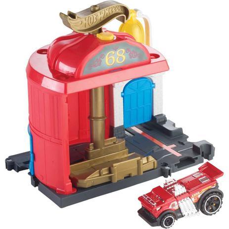 Imagem de Hot Wheels Pista E Acessorio City Conjunto Basico Sortido Mattel Fmy95