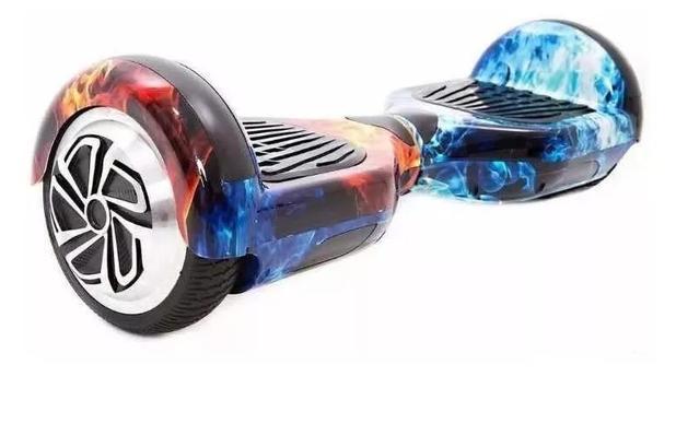 Imagem de Hoverboard 6.5 - skate eletrico - Gelo e fogo - Bluetooth e LED