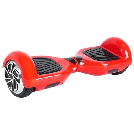 Imagem de Hoverboard Scooter Elétrico Foston Vermelho 3000s Bluetooth 6,5pol.