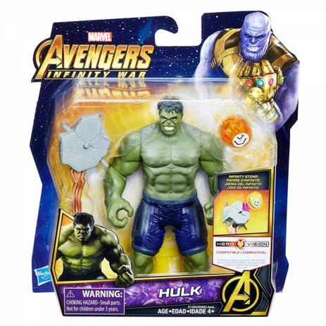 Hulk 15cm Vingadores Guerra Infinita Marvel - Hasbro E1405 - Bonecos ... 38a7772eaf5