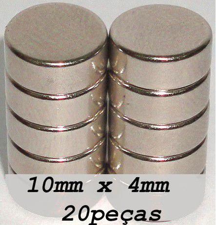 9cb67c019af Ima De Neodímio   Super Forte   10mm X 4mm 20 Peças - Fácil negócio  importação