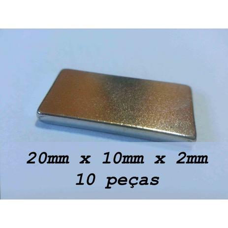 8e759c7ed75 Imã De Neodímio   Super Forte   20mm X 10mm X 2mm