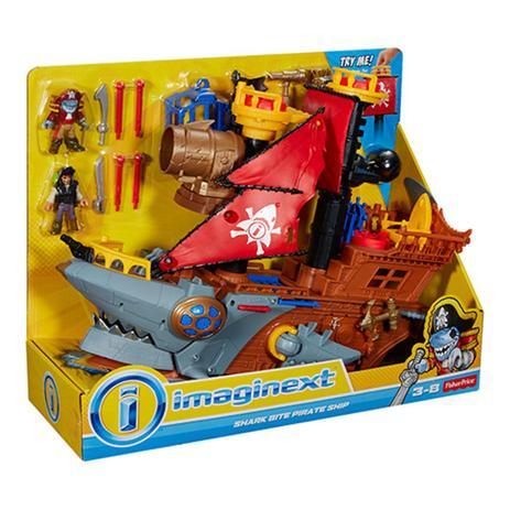 Imagem de Imaginext Navio Pirata Tubarão - Mattel