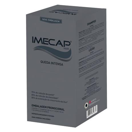 c083adfae Imecap Hair Queda Intensa Kit - Creme + Cápsulas - Cuidado com o ...