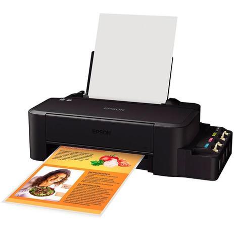 Imagem de Impressora Epson Eco Tank L120, Colorida, Cabo USB - Bivolt