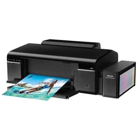 Imagem de Impressora Epson L805, Tanque de Tinta Colorida, Fotográfica, Wi-Fi - 110V