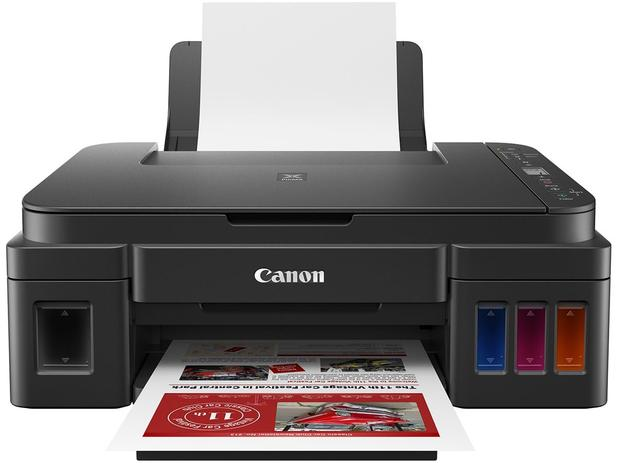Imagem de Impressora Multifuncional Canon Pixma Maxx Tinta G3110 Tanque de Tinta Colorida WiFi