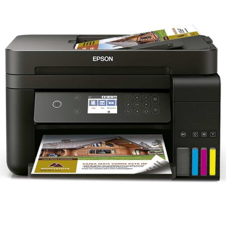 Imagem de Impressora Multifuncional Epson EcoTank L6171 ADF Duplex