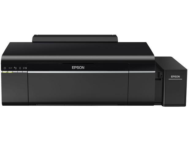 Impressora Multifuncional Epson EcoTank L805 - Jato de Tinta Wi-Fi Colorida USB - 110V