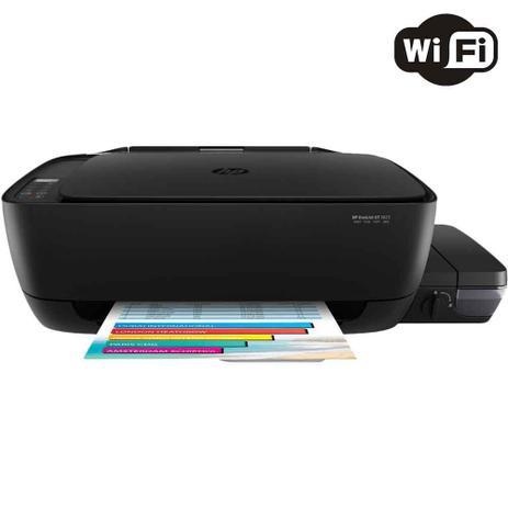 Imagem de Impressora Multifuncional HP DeskJet GT 5822 Tanque de Tinta Colorida Wireless Bivolt