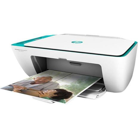 Imagem de Impressora Multifuncional HP Deskjet Ink Advantage 2676 Colorida Wireless Bivolt