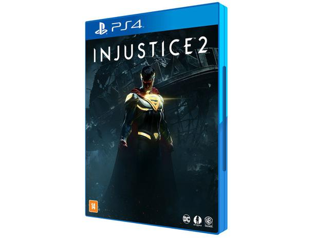 Injustice 2 para PS4 - Warner - 220V