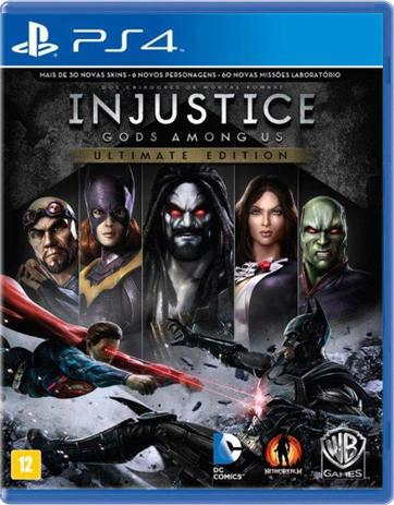 Imagem de Injustice Gods Among Us Ultimate Edition - PS4
