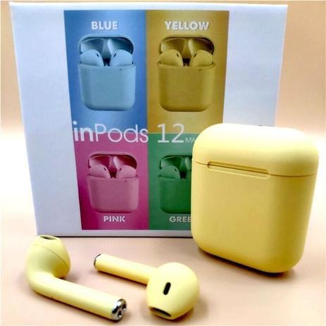 Imagem de Inpods 12 Colors Fones Sem Fio Bluetooth