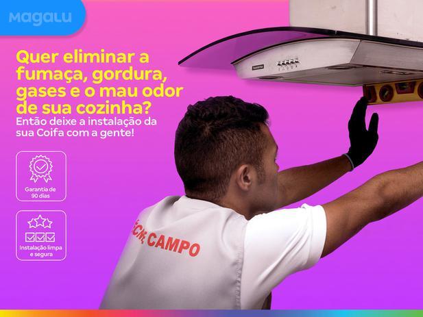 Imagem de Instalação de coifa em parede  os melhores técnicos, serviço limpo e seguro, qualidade garantida