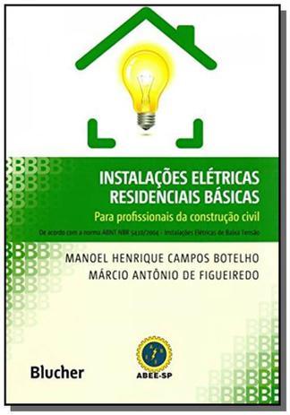 Imagem de Instalacoes eletricas residenciais basicas: para p
