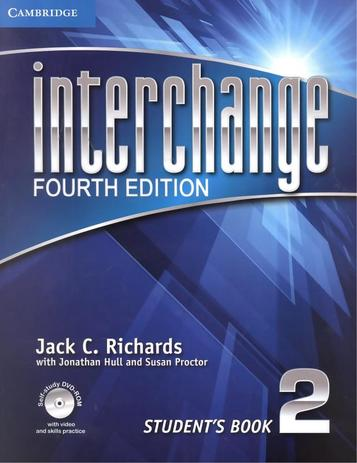 Imagem de Interchange 2 sb with dvd-rom - 4th ed