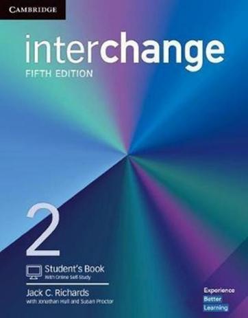 Imagem de Interchange 2 sb with online self-study - 5th ed - Cambridge university