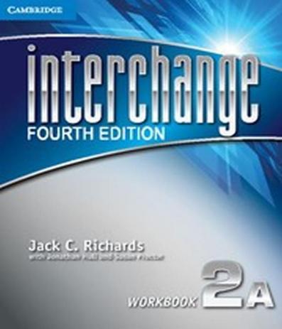 Interchange 2a - Workbook - 04 Ed - Cambridge