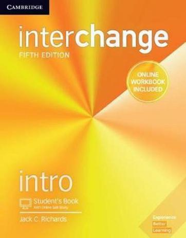 Imagem de Interchange intro sb with online self-study and online wb - 5th ed - Cambridge university